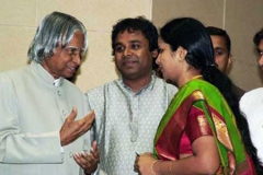 Blessings from the greatest Abdul Kalam sir
