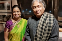 With the Sarod maestro Ustad Amjad Ali Khan ji